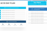 30 60 90 Day Plan For Powerpoint – Pslides pertaining to 30 60 90 Day Plan Template Powerpoint