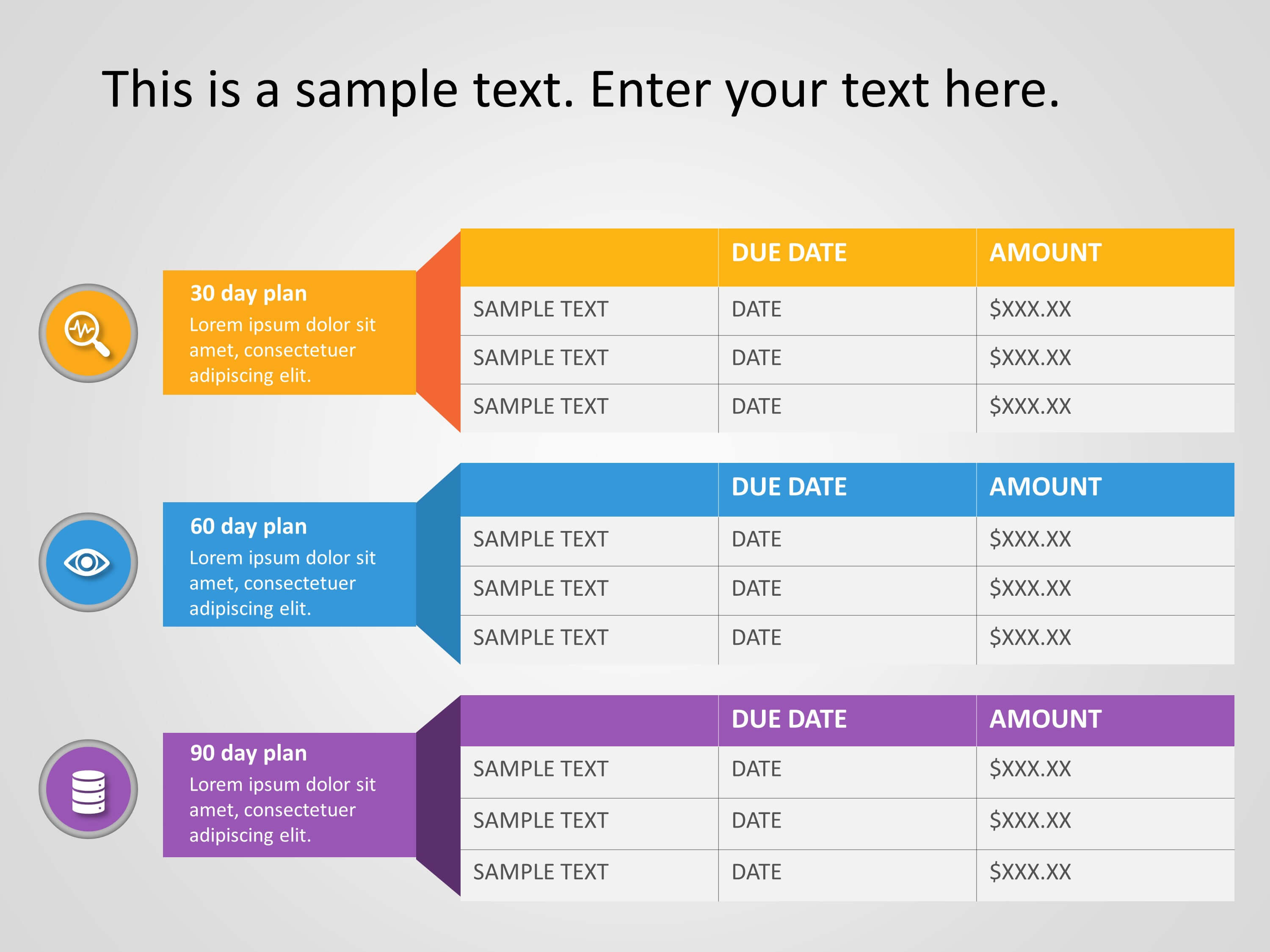 30 60 90 Day Plan Powerpoint Template 21 | 30 60 90 Day Plan Within 30 60 90 Day Plan Template Powerpoint