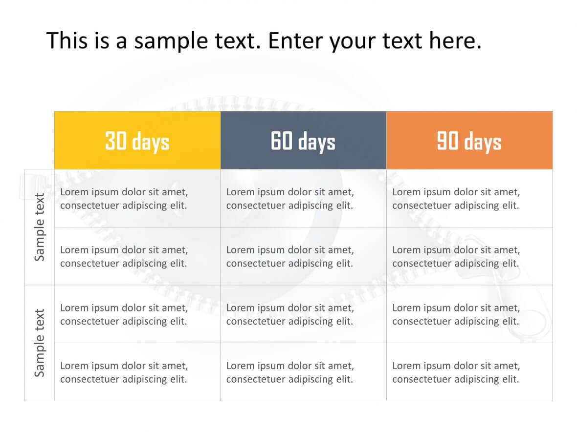 30 60 90 Day Plan Powerpoint Template 23   30 60 90 Day Plan Pertaining To 30 60 90 Day Plan Template Powerpoint