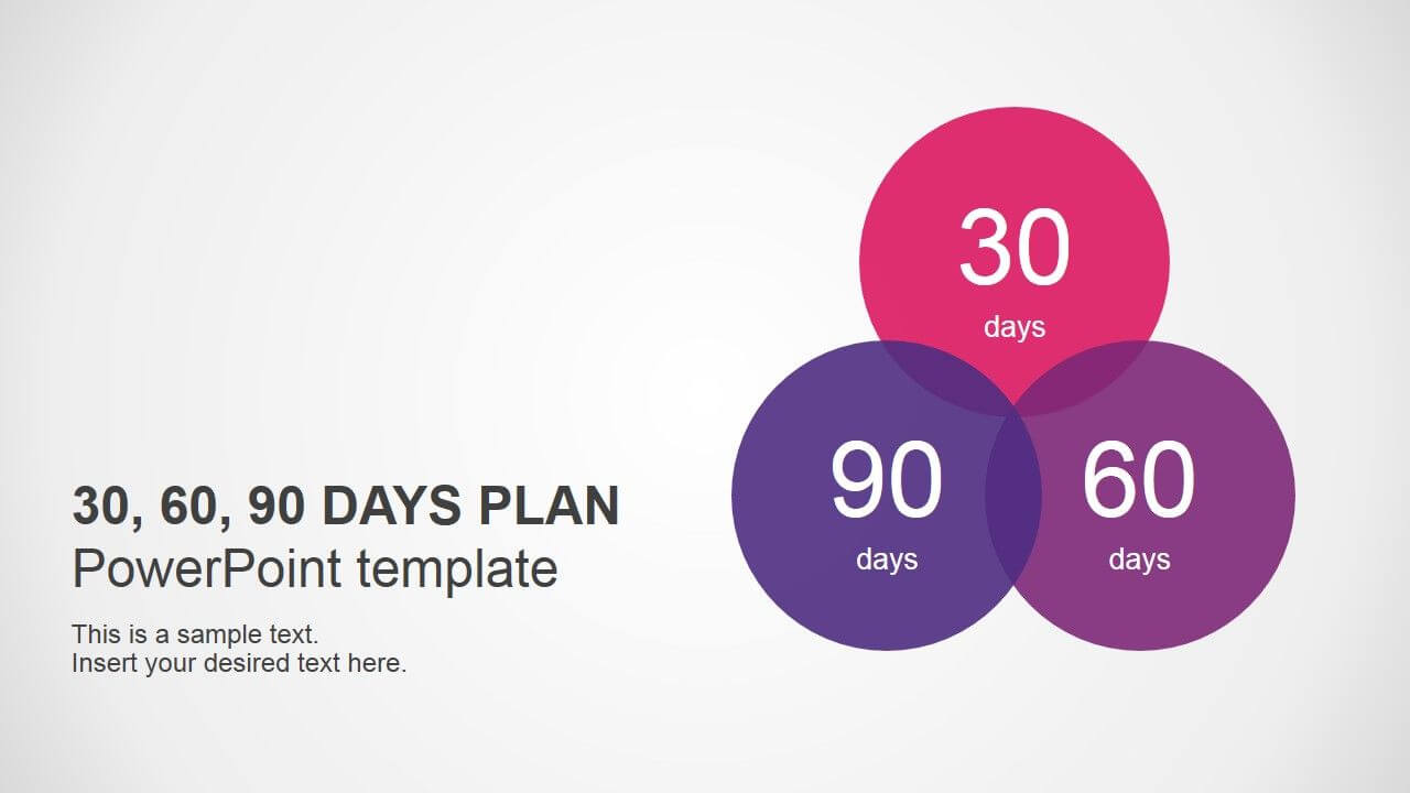 30 60 90 Days Plan Powerpoint Template   90 Day Plan With 30 60 90 Day Plan Template Powerpoint