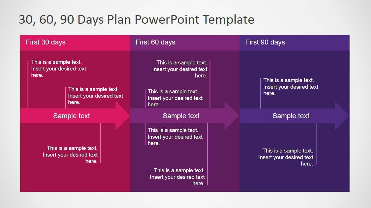 30 60 90 Days Plan Powerpoint Template | Work Stuff | 90 Day With 30 60 90 Day Plan Template Powerpoint