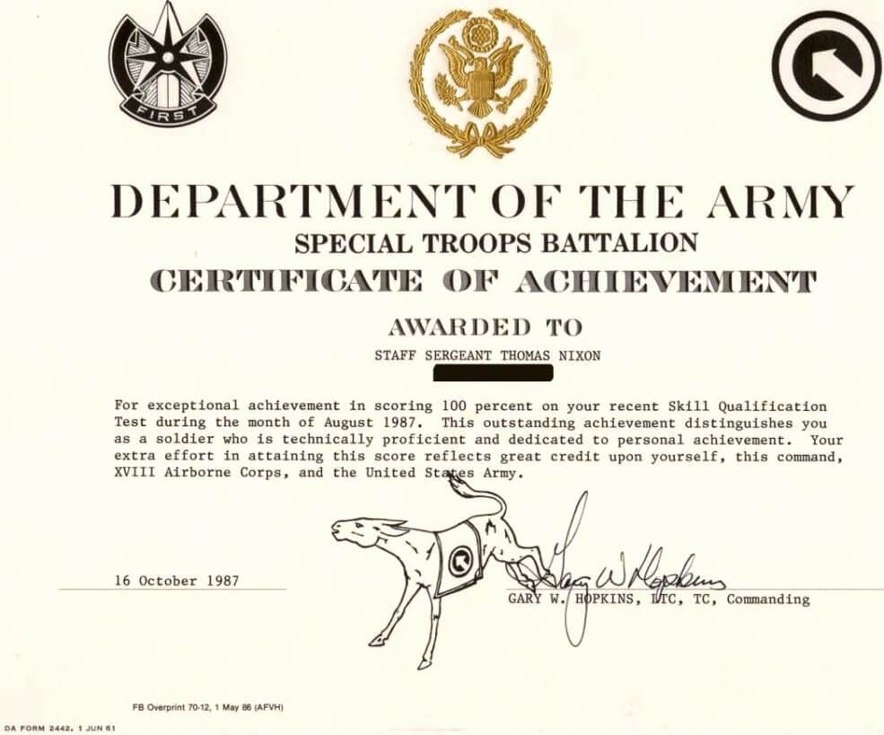 30 Army Award Certificate Template | Pryncepality within Army Good Conduct Medal Certificate Template