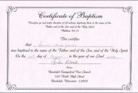 30 Baby Christening Certificate Template | Pryncepality regarding Baby Christening Certificate Template