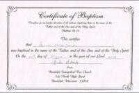 30 Baby Dedication Certificate Wording | Pryncepality pertaining to Baby Dedication Certificate Template