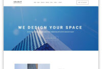 30+ Best Free Simple Website Templates For All Famous Niches with regard to Html5 Blank Page Template