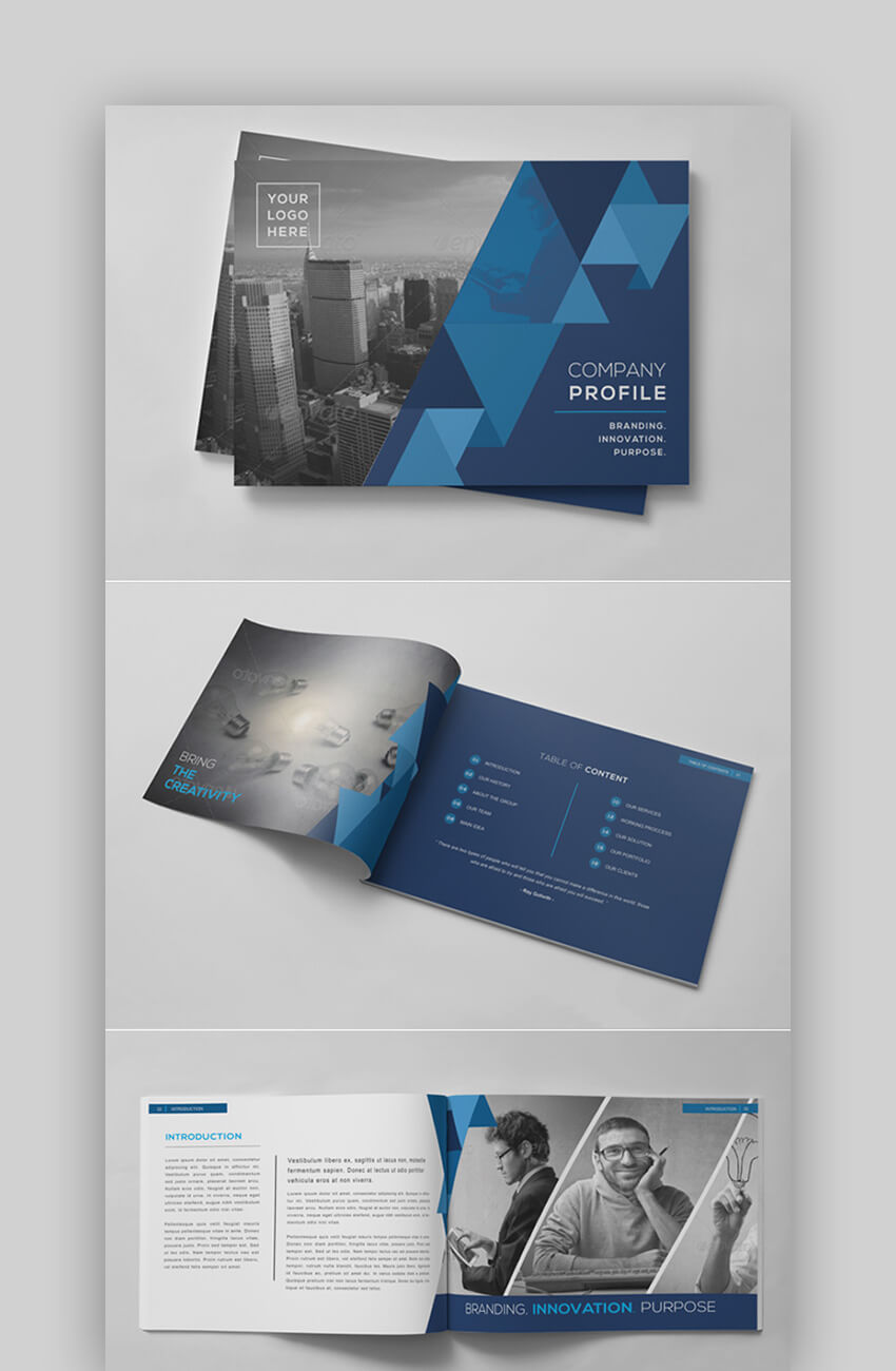 30 Best Indesign Brochure Templates – Creative Business For Adobe Indesign Brochure Templates