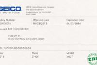 30 Blank Car Insurance Card Template   Pryncepality intended for Fake Auto Insurance Card Template Download