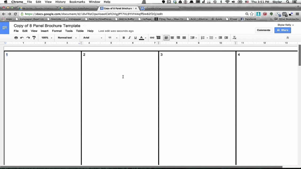 30 Brochure Templates For Google Docs   Tate Publishing News regarding Google Docs Brochure Template
