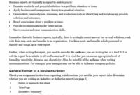 30+ Business Report Templates & Format Examples ᐅ Template Lab in Evaluation Summary Report Template