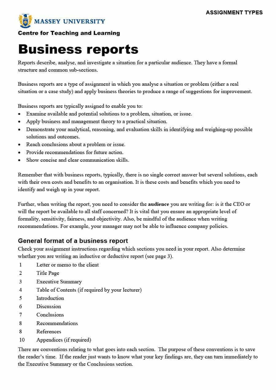 30+ Business Report Templates & Format Examples ᐅ Template Lab Pertaining To Template On How To Write A Report