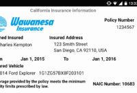 30 Car Insurance Card Template | Pryncepality in Car Insurance Card Template Download