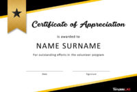 30 Free Certificate Of Appreciation Templates And Letters pertaining to Referral Certificate Template