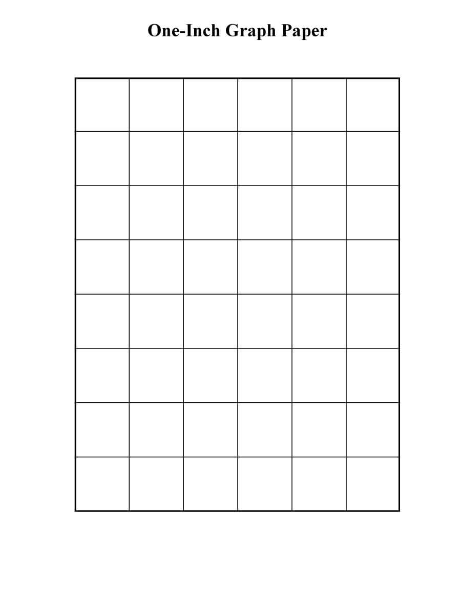 30+ Free Printable Graph Paper Templates (Word, Pdf) ᐅ in Graph Paper Template For Word