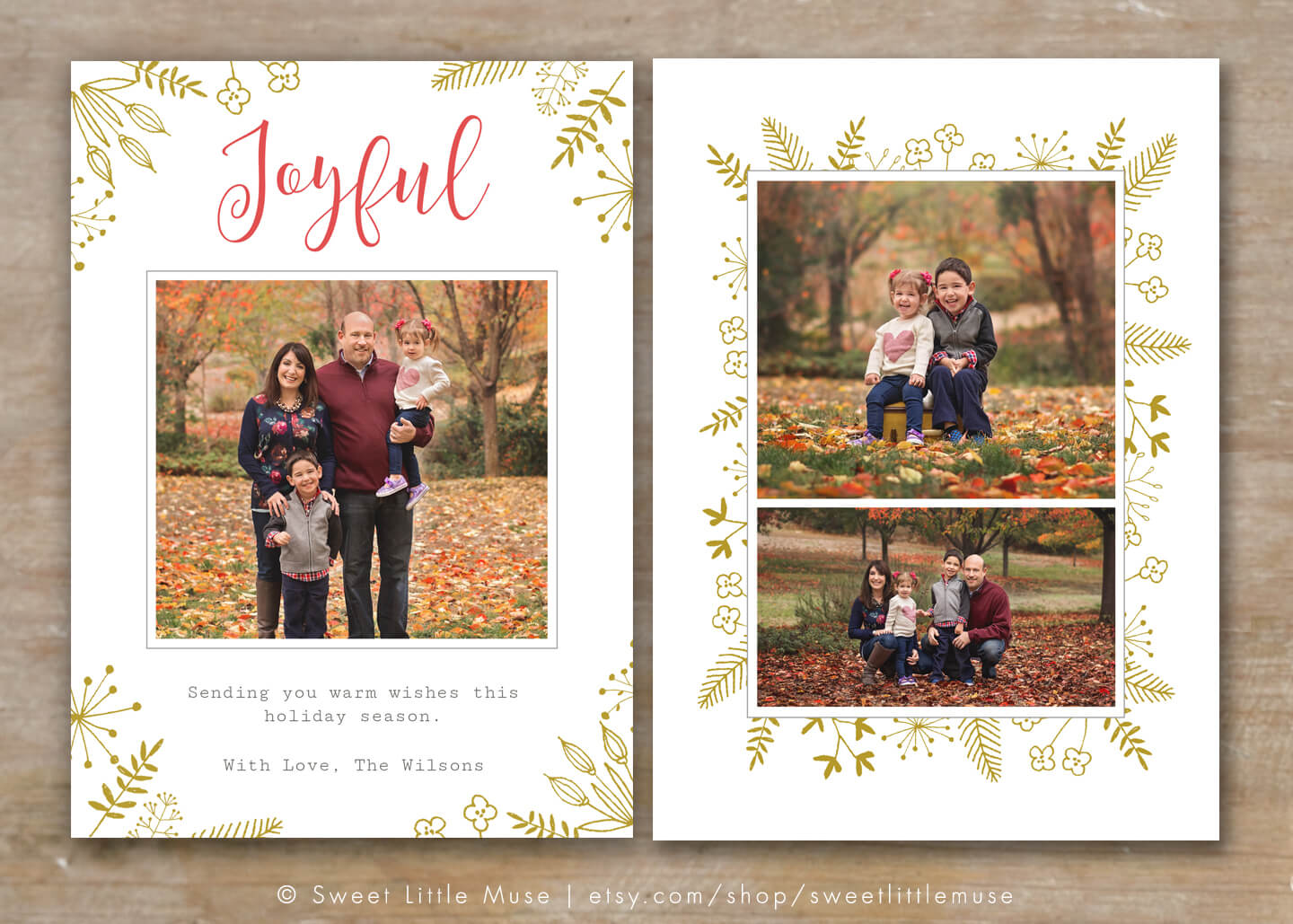 30 Holiday Card Templates For Photographers To Use This Year Intended For Holiday Card Templates For Photographers