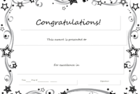 30 Inspirations Of Blank Award Certificate Templates Word within Blank Award Certificate Templates Word