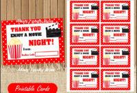 30 Redbox Gift Certificate Template | Pryncepality Inside Movie Gift Certificate Template