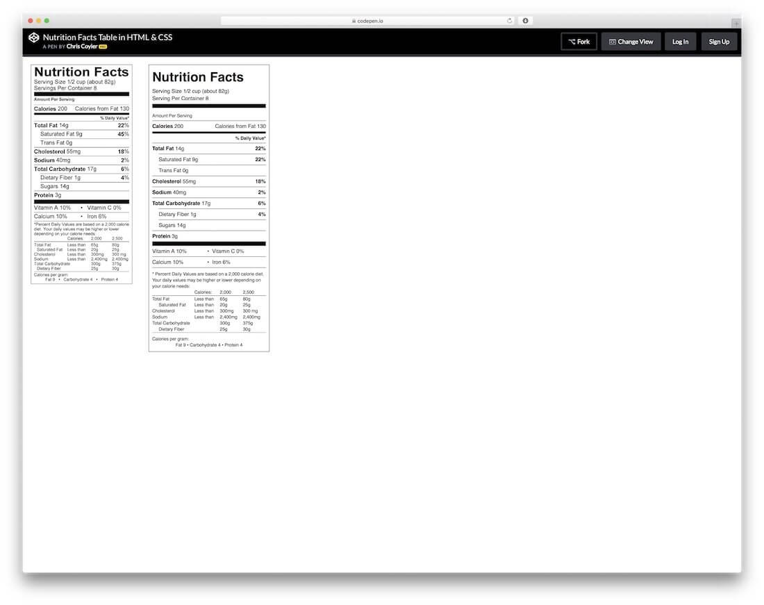 30 Simple Css3 & Html Table Templates And Examples 2019 with Html Report Template Download