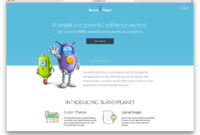 30 Tools & Plugins For Creating Online Surveys For WordPress throughout Poll Template For Word