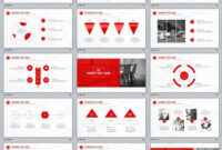 31+ Best Red Annual Report Powerpoint Template in Powerpoint Template Resolution