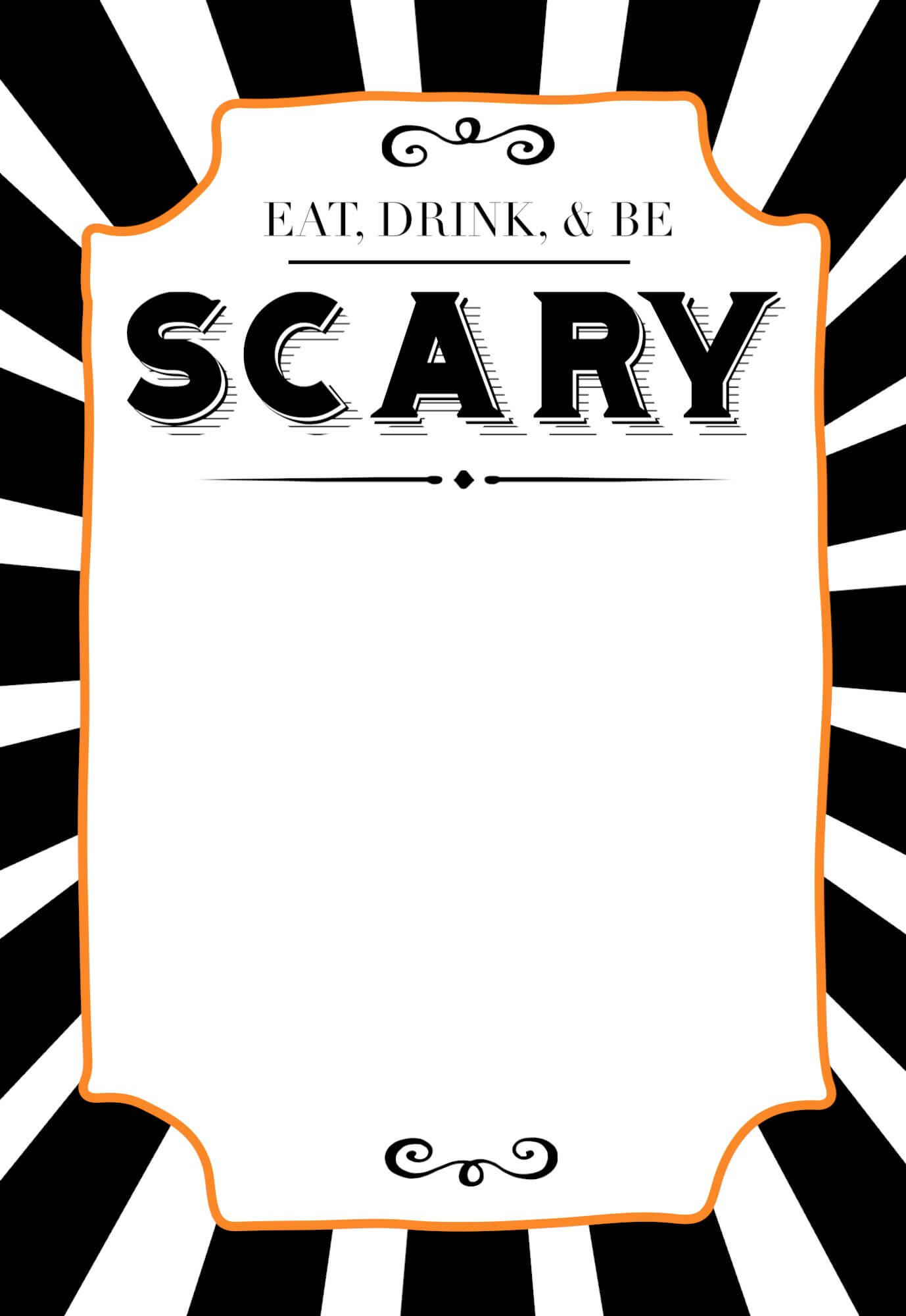 32 Free Halloween Invitation Templates | Usmlereview intended for Free Halloween Templates For Word