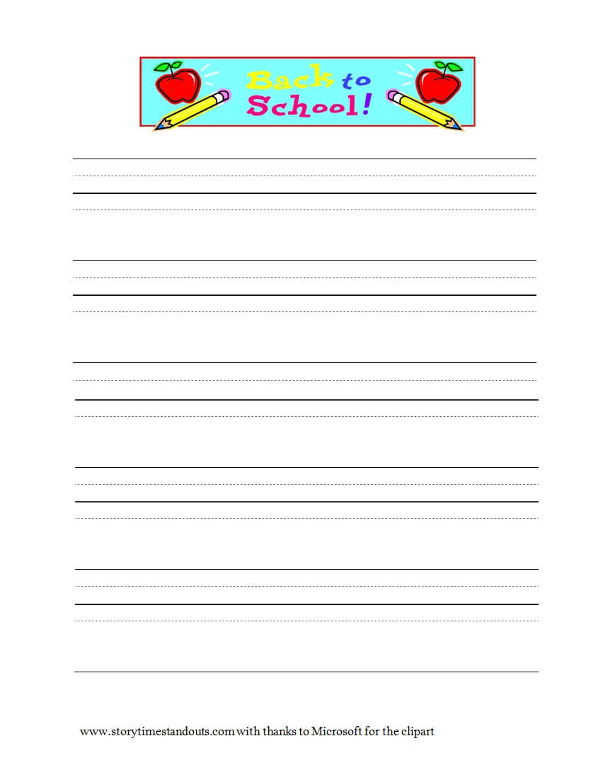 32 Printable Lined Paper Templates ᐅ Template Lab inside Notebook Paper Template For Word