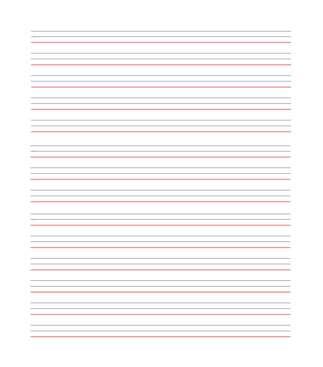 32 Printable Lined Paper Templates ᐅ Template Lab Regarding Notebook Paper Template For Word