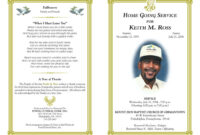 33+ Free Obituary Template Download [Word, Pdf] – Freemium!! regarding Obituary Template Word Document
