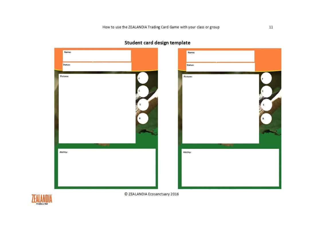33 Free Trading Card Templates (Baseball, Football, Etc regarding Free Trading Card Template Download