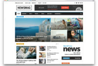 34 Best WordPress Newspaper Themes For News Sites 2019 inside Magazine Ad Template Word