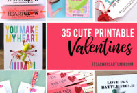 35 Adorable Diy Valentine's Cards To Print At Home For Your in Valentine Card Template For Kids