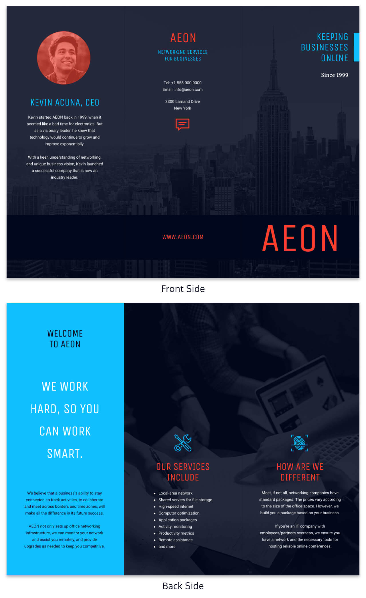35+ Marketing Brochure Examples, Tips And Templates - Venngage throughout One Page Brochure Template
