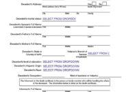 37 Blank Death Certificate Templates [100% Free] ᐅ Template Lab with Fake Death Certificate Template