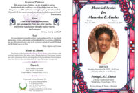 37+ Obituary Templates Download [Editable & Professional within Obituary Template Word Document