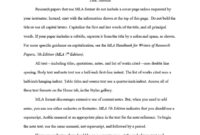 38 Free Mla Format Templates (+Mla Essay Format) ᐅ Template Lab regarding Mla Format Word Template