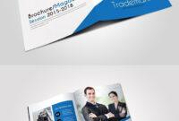 4 Pages Business Bi Fold Brochure . Creative Business Card regarding Pages Business Card Template