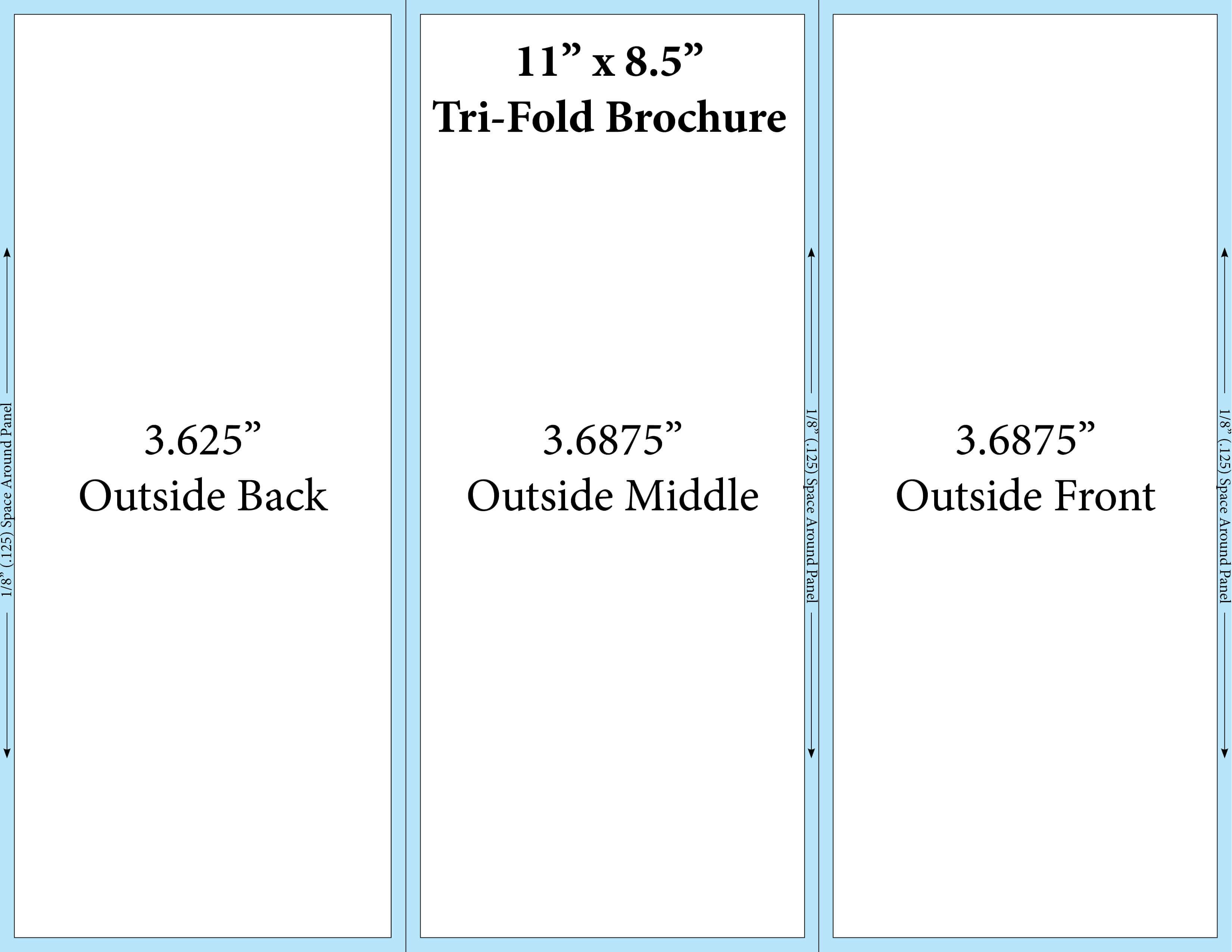 4 Panel Brochure Template – Yupar.magdalene Project With Regard To 4 Panel Brochure Template