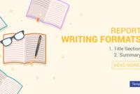 4+ Report Writing Formats – Pdf | Free & Premium Templates Inside Report Writing Template Free