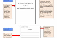 40+ Apa Format / Style Templates (In Word & Pdf) ᐅ Template Lab pertaining to Apa Format Template Word 2013