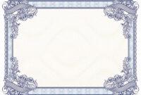 40+ Beautiful Certificate Border Templates & Designs inside Award Certificate Border Template