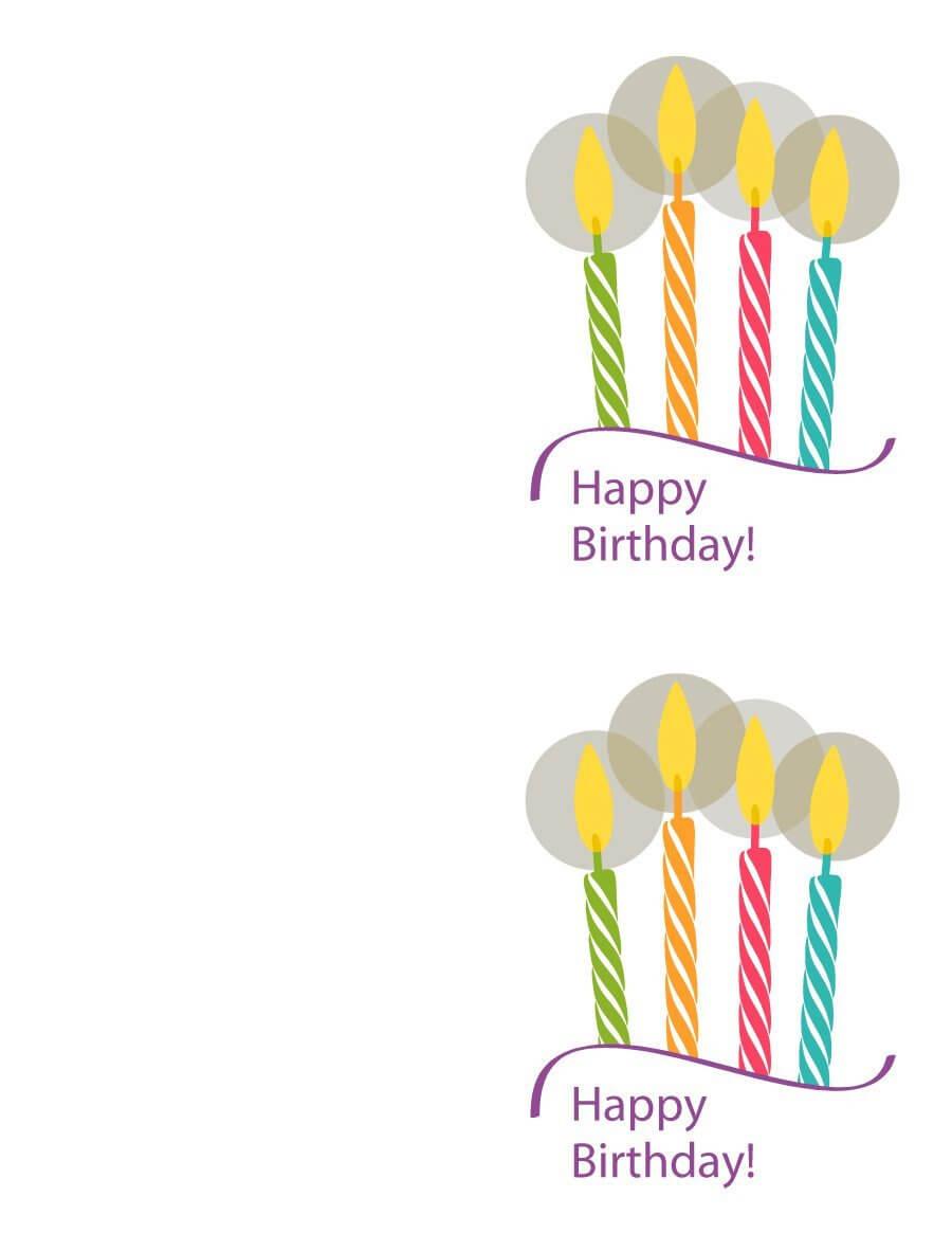 40+ Free Birthday Card Templates ᐅ Template Lab throughout Mom Birthday Card Template