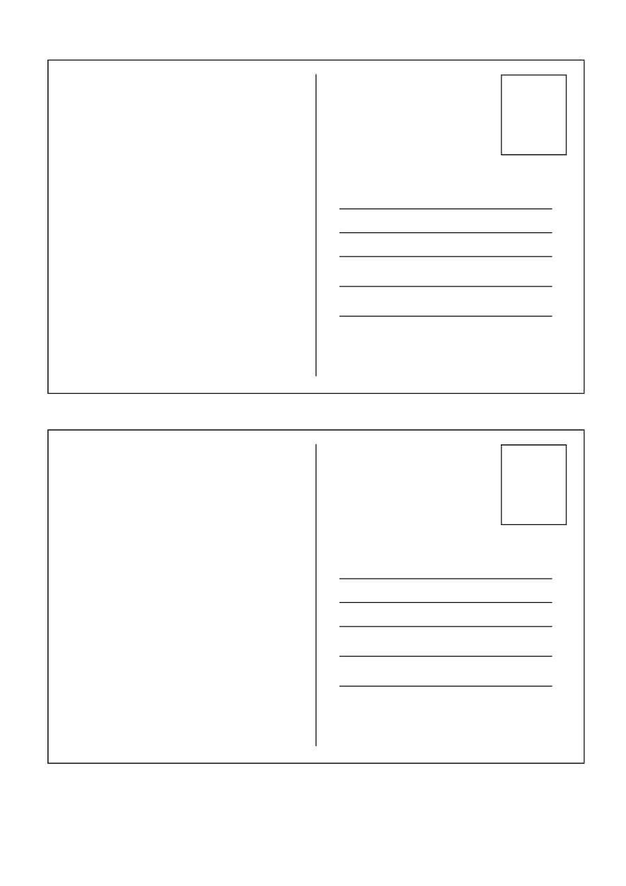 40+ Great Postcard Templates & Designs [Word + Pdf] ᐅ Intended For Free Blank Postcard Template For Word