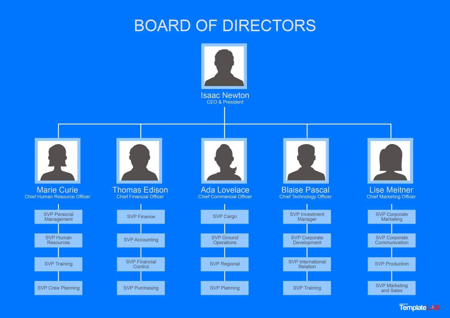40 Organizational Chart Templates (Word, Excel, Powerpoint) Regarding Company Organogram Template Word