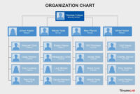 40 Organizational Chart Templates (Word, Excel, Powerpoint) throughout Free Blank Organizational Chart Template