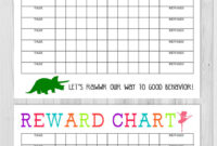 40 Printable Reward Charts For Kids (Pdf, Excel & Word) with regard to Reward Chart Template Word