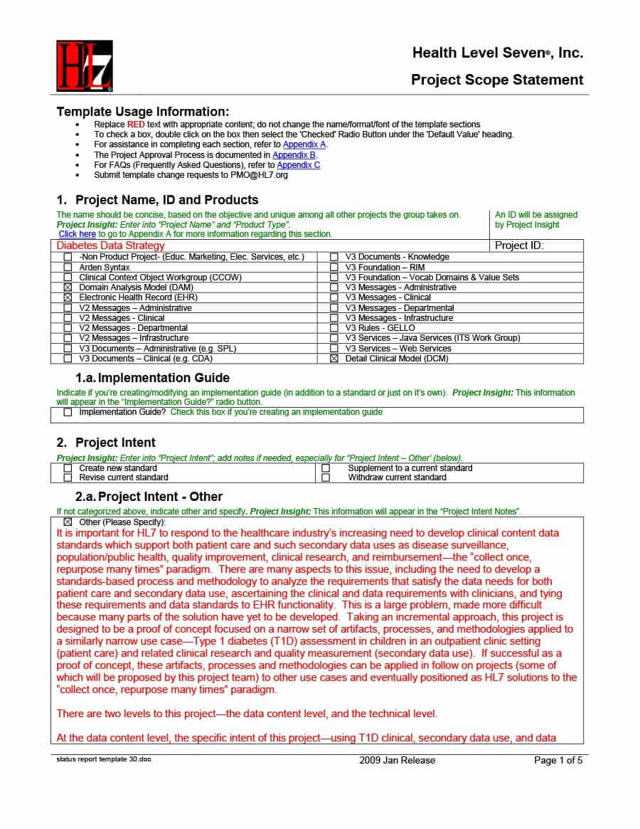 40+ Project Status Report Templates [Word, Excel, Ppt] ᐅ In Project Implementation Report Template