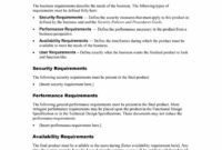 40+ Simple Business Requirements Document Templates ᐅ with Product Requirements Document Template Word