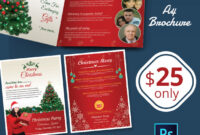 41+ Christmas Brochures Templates - Psd, Word, Publisher throughout Christmas Brochure Templates Free