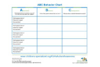 42 Printable Behavior Chart Templates [For Kids] ᐅ Template Lab With Behaviour Report Template
