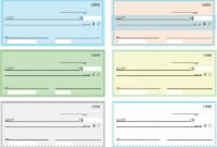 43+ Fake Blank Check Templates Fillable Doc, Psd, Pdf!! intended for Blank Business Check Template Word