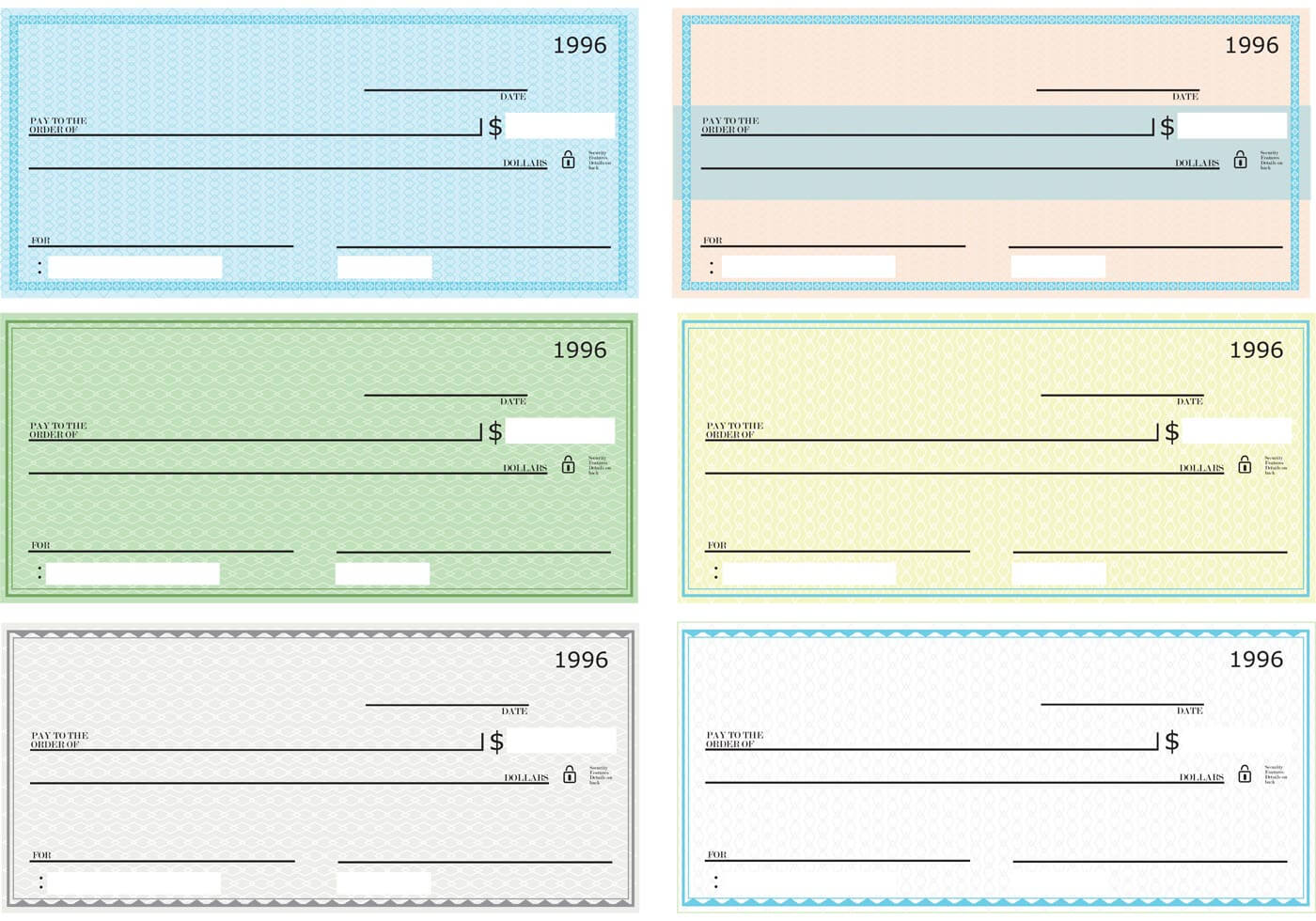 43+ Fake Blank Check Templates Fillable Doc, Psd, Pdf!! with regard to Print Check Template Word